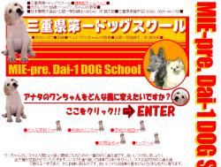 三重県第一ドッグスクール